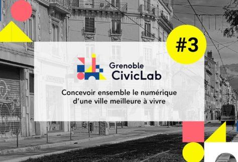Lancement de la 3e édition du Grenoble CivicLab